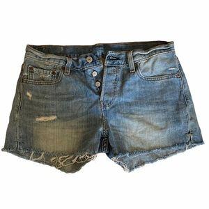 Levi's Denim Jean Shorts 501 Cut Off Shorts 26